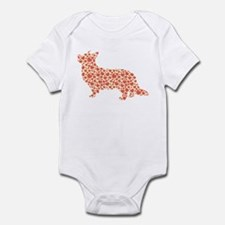 Cardigan Welsh Corgi Infant Bodysuit