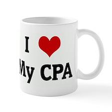 I Love My CPA Mug