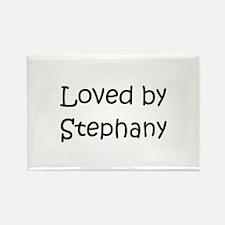 Stephany Rectangle Magnet