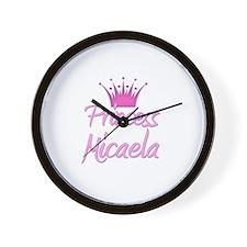 Princess Micaela Wall Clock