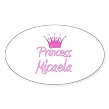 Princess Micaela Oval Decal