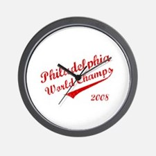 Philadelphia World Champs 2008 Wall Clock