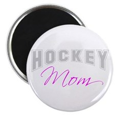 Hockey Mom (grey) Magnet