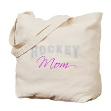 Hockey Mom (grey) Tote Bag