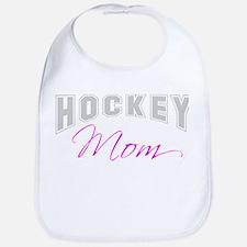 Hockey Mom (grey) Bib