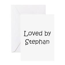 Funny Stephan Greeting Card