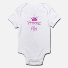 Princess Mia Infant Bodysuit