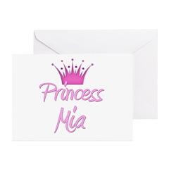 Princess Mia Greeting Cards (Pk of 20)