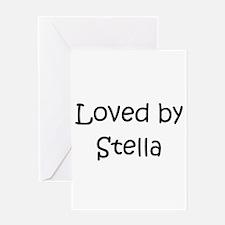 Unique Stella Greeting Card