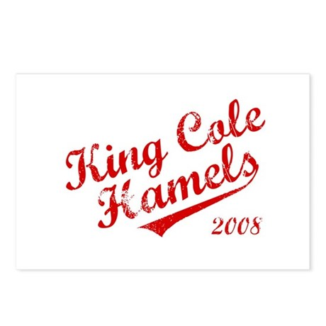 King Cole Hamels 2008 Postcards (Package of 8)