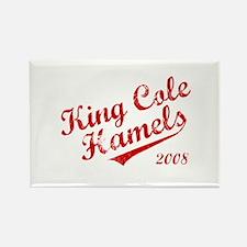 King Cole Hamels 2008 Rectangle Magnet