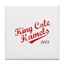 King Cole Hamels 2008 Tile Coaster