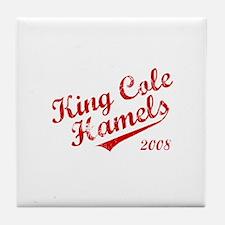 King Cole Hamels 2008 Tile Coaster
