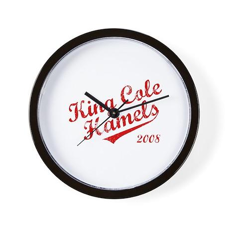 King Cole Hamels 2008 Wall Clock