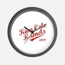 King Cole Hamels 2008 Wall Clock