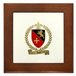 ROY Family Crest Framed Tile