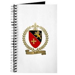 ROY Family Crest Journal