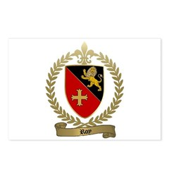 ROY Family Crest Postcards (Package of 8)