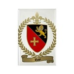 ROY Family Crest Rectangle Magnet (100 pack)