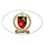 ROY Family Crest Oval Sticker
