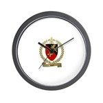 ROY Family Crest Wall Clock