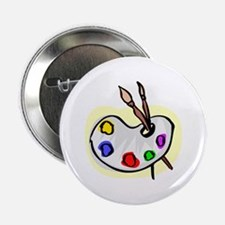 "Artist Palet 2.25"" Button"