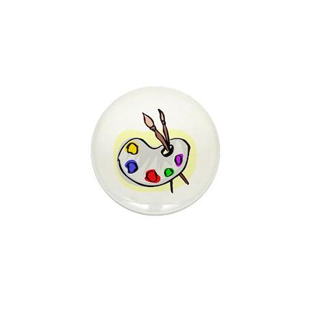 Artist Palet Mini Button