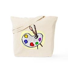 Artist Palet Tote Bag