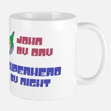 John - Super Hero by Night Small Small Mug