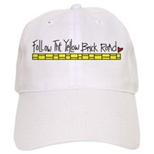 Yellow Brick Road Baseball Baseball Cap