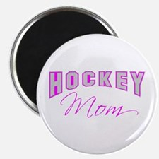 Hockey Mom (pink) Magnet