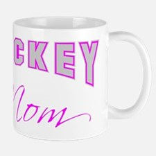 Hockey Mom (pink) Mug