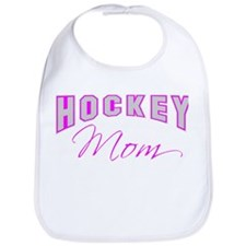 Hockey Mom (pink) Bib
