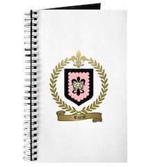 RUEST Family Crest Journal