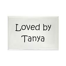 Cool Tanya Rectangle Magnet