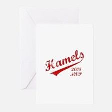 Hamels 2008 MVP Greeting Cards (Pk of 10)
