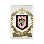 RUEST Family Crest Rectangle Magnet