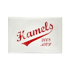 Hamels 2008 MVP Rectangle Magnet