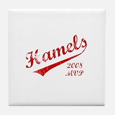 Hamels 2008 MVP Tile Coaster