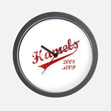 Hamels 2008 MVP Wall Clock