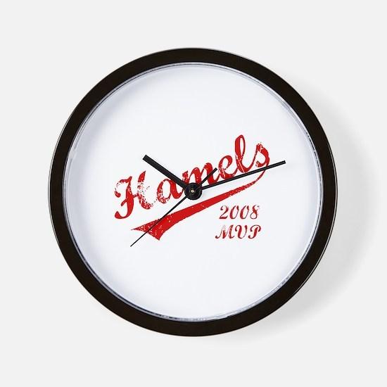 Hamels 2008 MVP Wall Clock