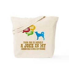 Canaan Dog Tote Bag