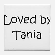 Cute Tania Tile Coaster