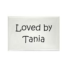 Funny Tania Rectangle Magnet