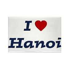I HEART HANOI Rectangle Magnet