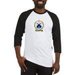 SAINDON Family Crest Baseball Jersey