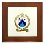 SAINDON Family Crest Framed Tile