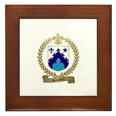 SAINDON Family Crest Framed Tile