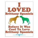 Brittany Spaniel Small Poster
