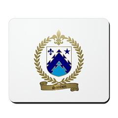 SAINDON Family Crest Mousepad